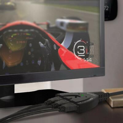 4K Ultra HD 3 Way HDMI Switch Splitter HDTV Auto 3 Port IN 1 OUT Splitter CAN SL 6