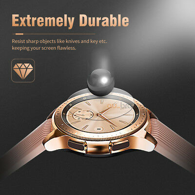 2x Samsung Galaxy Watch 46/42mm Scratch Resist Tempered Glass Screen Protector 7