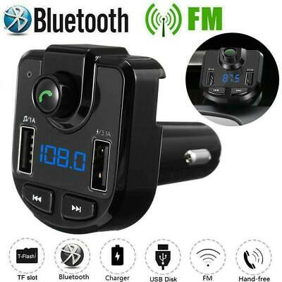 Bluetooth Car Set FM Transmitter Radio MP3 Player USB Charger Wireless Handsfree 2