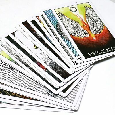 63pcs Tarot Cards Soul Spirit Deck Arrival Animal  English Divination Board Game 5