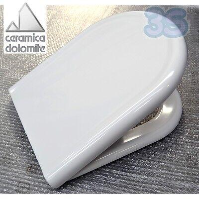 Tenax Ceramica Dolomite.3s Sedile Originale Ceramica Dolomite Per Wc Clodia In
