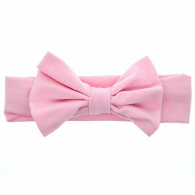 Baby Toddler Girls Kids Bunny Rabbit Bow Knot Turban Headband Hair Band Headwrap 10