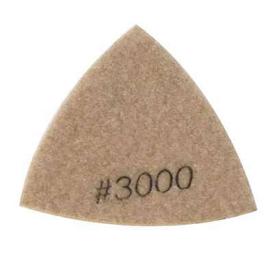 Specialty Diamond BRTTD3000 Diamond Triangular Dry Pad with 3000 Grit