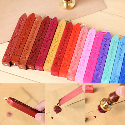 1/5X Traditional Wax Sealing Stick for Letter Stamp Seal Melting Candle Envelope 7