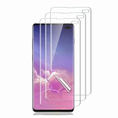 For Samsung Galaxy S10 S10 Plus S10E Full Coverage Hydrogel Screen Protector 8