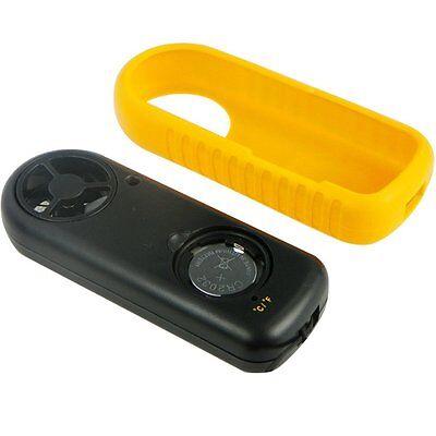 Mini Handheld Digital LCD Wind Speed Meter Thermometer Anemometer Velocity Gauge 9