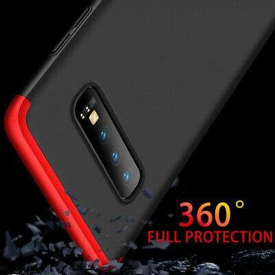 Thin Shockproof Slim Case + Screen Protector For Samsung Galaxy S10/S9/S8 Plus 2