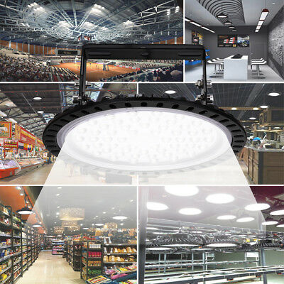 50W 100W 200W500W LED UFO High Bay Light Commercial Warehouse Industrial Factory 5