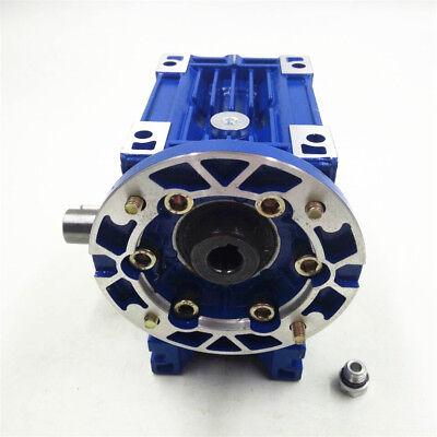 NMRV030 Worm Gear Speed Reducer Ratio 10:1 56B14 for  Stepper Motor 1400r/min 2