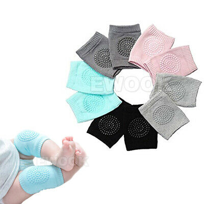 Unisex Baby Crawling Cushion Knee Pads Safety Infant Toddler Anti-slip Protector 2