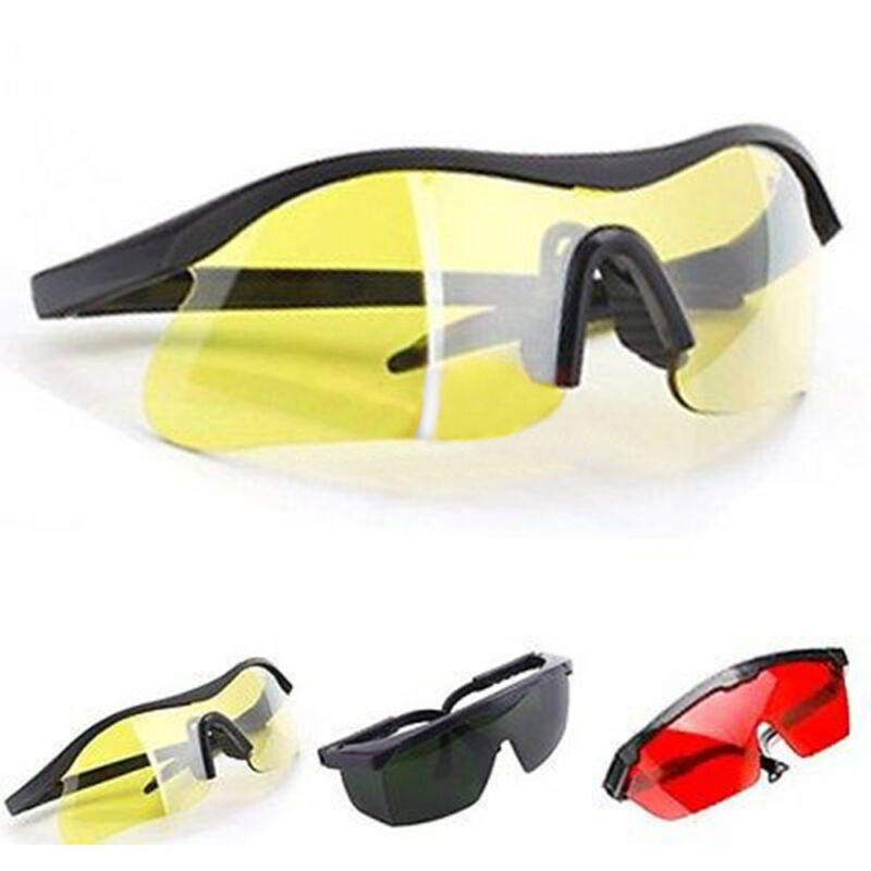 Multicolor Laser Eye Glasses Protection Safety Goggles Large Polycarbonate Lens 2