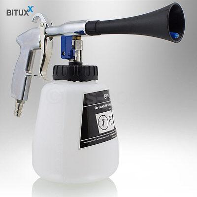 Bituxx Tornado Reinigungspistole Druckluft Wasser Kfz Auto PKW Waschpistole 1/4 7