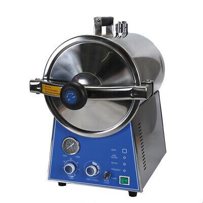 24L Dental Medical High Pressure Steam Autoclave Sterilizer Stainless TM-T24J 2