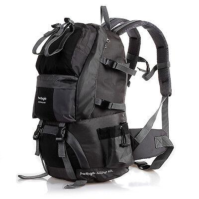 e78b2b18ea 2 of 12 40L Outdoor Sport Hiking Camping Travel Backpack Daypack Trekking Rucksack  Bag