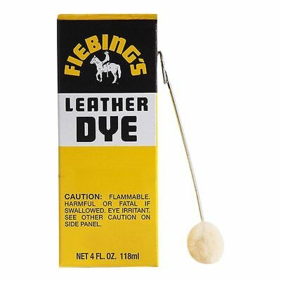 Fiebing's Leather Dye w/ Applicator - ALL COLORS- 4 OZ  |Not for CA Customers| 4