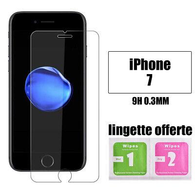Vitre verre trempe film de protection d'écran iPhone SE/6S/7/8/X/XR/11/Pro Max 3