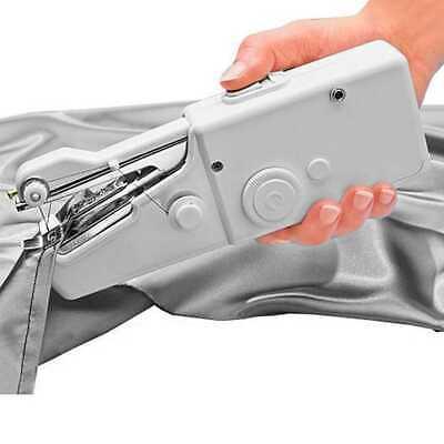 Maquina De Coser Electrica Mano Portatil Portable Mini Alimentacion AA 4 Pilas 3