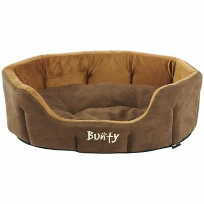 Bunty Lounger Dog Bed Soft Washable Fleece Fur Cushion Warm Luxury Pet Basket 2