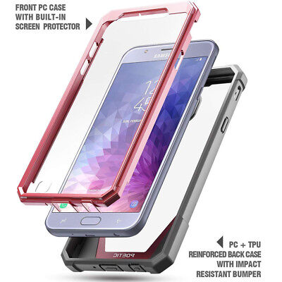 Poetic Guardian Heavy Duty Cover Rugged Case For Samsung Galaxy J7 2018 Pink 5