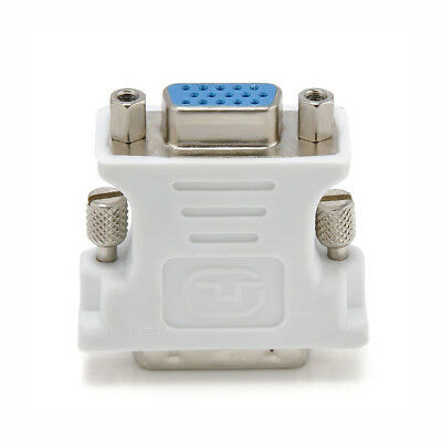 DVI to VGA SVGA Converter Adapter DVI-D Dual Link 24+1 pin Male to 15 Female New 4