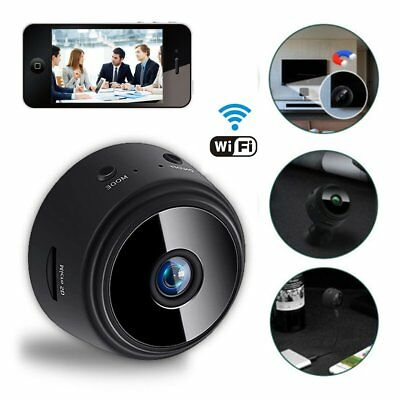Mini Spy Camera Wireless Wifi IP Home Security HD 1080P DVR Night Vision Remote 4
