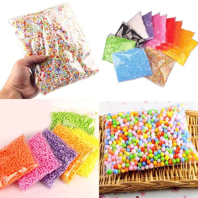 HOT!!! Assorted Colors Polystyrene Styrofoam Filler Foam Mini Beads Balls Crafts 2