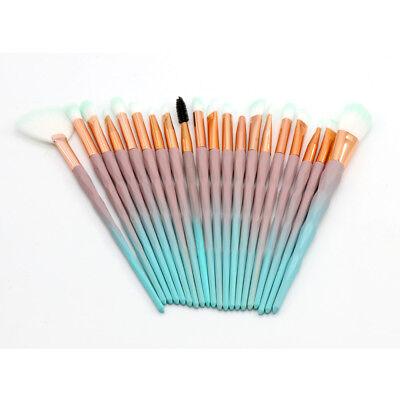 Professional Make up Brushes Set Eye Shadow Eyebrow Makeup Kit Cosmetic Tools UK 6