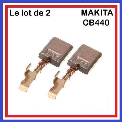 2x Balais Charbon 3 x 10 x 13,4 mm Pour Makita btw251 dtw251 dtd146 dtw250