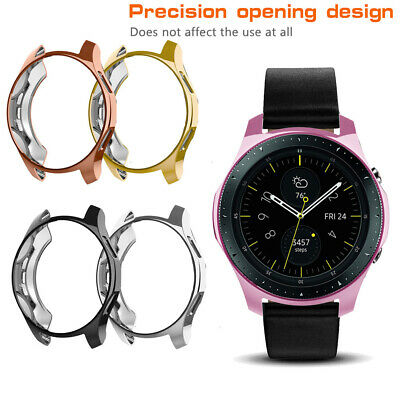For Samsung Galaxy Watch 42mm 46mm Smart Watches Screen Protector TPU Case Cover 3