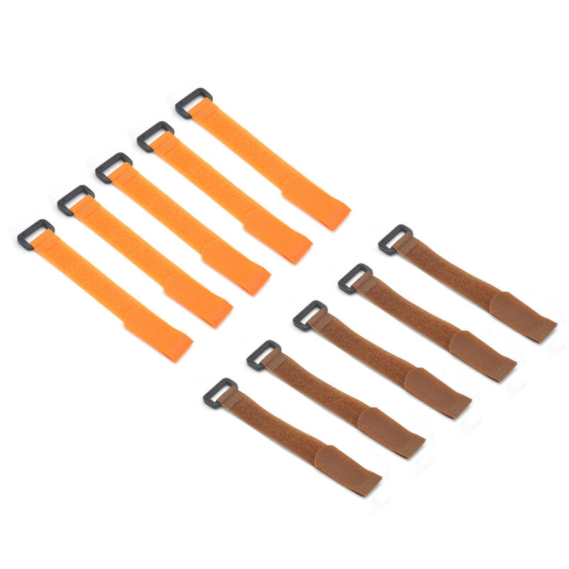 10x Reusable Fishing Rod Tie Holder Strap Fastener Ties Fishing Tools Supply 7