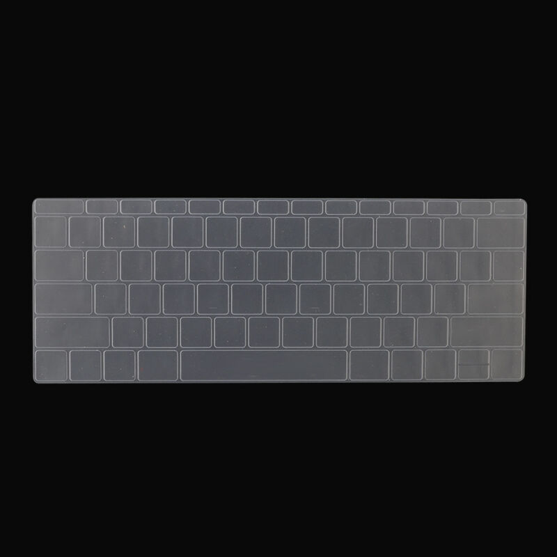 """For Macbook Pro 13/15"""" With Touch Bar (2018) Silicone Laptop Keyboard Cover Skin"""