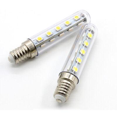 2X E14 3W 2.5W 1.5W LED Light Cooker Hood Chimmey Fridge Bulb White Warm White 8