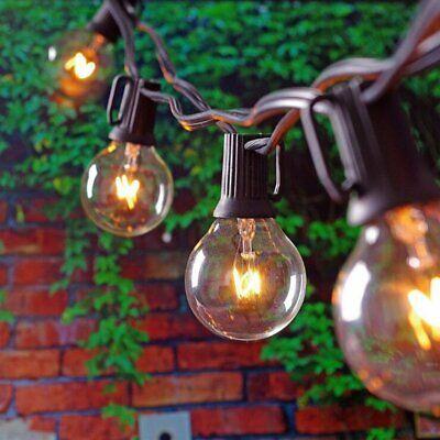 Catena Luminosa Ghirlanda Filo Lampadine Pub Feste Giardino Decorazione Luci 2
