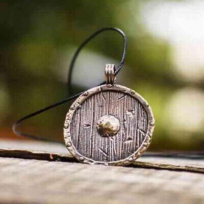 Men Nordic Viking Mjolnir Pendant Leather Cord Myth Thor's Hammer Norse Necklace 10