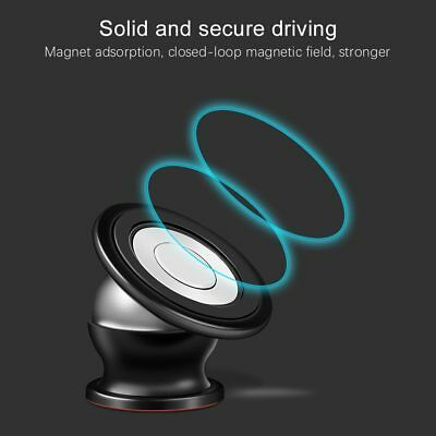 Magnetic Phone Holder 360° Universal Mobile Phone Magnet Car Mount Stand lot 7