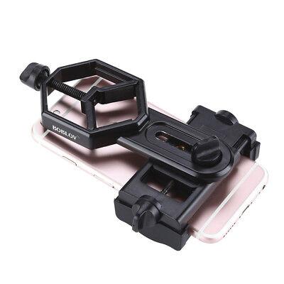 Spotting Scope Microscope Mount Bracket  for Phone Camera Adapter Univesal su 11