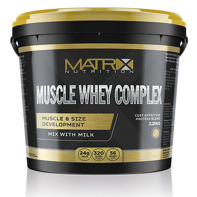 Muscle Whey Complex - Protein Shake - All Flavours All Sizes By Matrix Nutrition 3