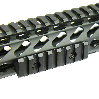 "Keymod Picatinny Weaver Rail Section Aluminum 5 7 13 Slot 2"" 3"" 5"" - Pick QTY 5"