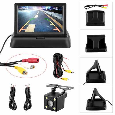 "4.3"" TFT LCD Monitor + Reversing Camera 170°Car Rear View Kit For Car Truck Van 2"