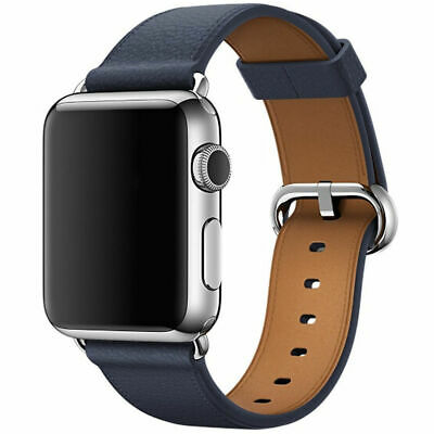 Leather Band Bracelet Strap For Apple Watch Series 4 3 2 1 38mm/40mm/42mm/44mm 5