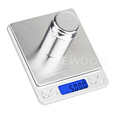 0.01G-500G Electronic Mini Digital Pocket Jewelry Gold Weighing Kitchen Scales 6