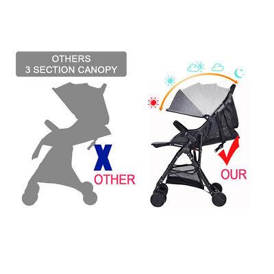 Lightweight Compact Fold Baby Stroller Pram Pushchair Travel 3