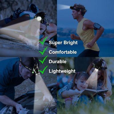 Waterproof 90000LM XM-L T6 LED Headlamp Headlight Flashlight Head Torch 18650 11