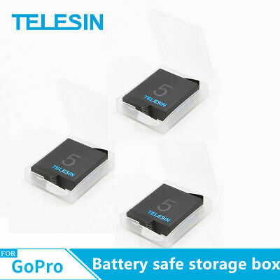 TELESIN 5Pc Battery safe storage box for Gopro hero7/6/5/4 battery Action Camera 2