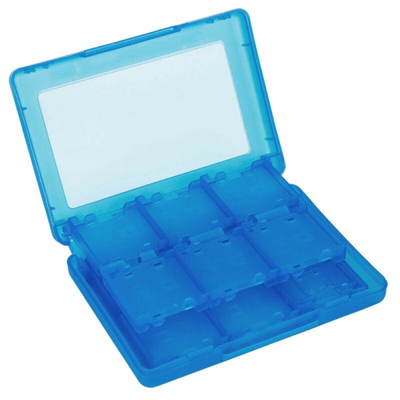 24DS Game Card Case Holder Cartridge Storage Box for Nintendo 3DS 3 colors 8