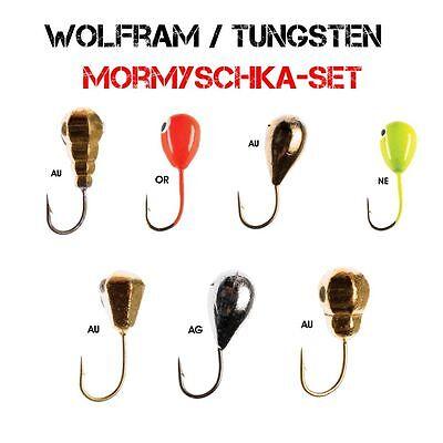 Deluxe Kinetic Eisangel-Set Pro2 Heavy mit Wolfram Mormyschkas