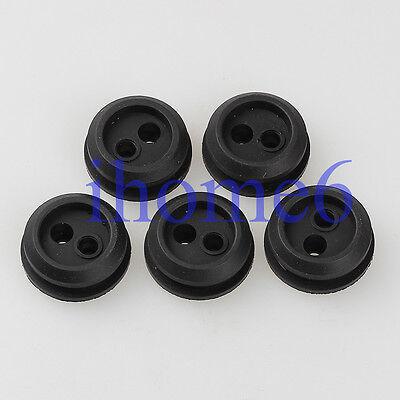 2 Pcs New Fuel Tank 2 Hole Grommet For KAWASAKI 531004433 92071-2142 HU