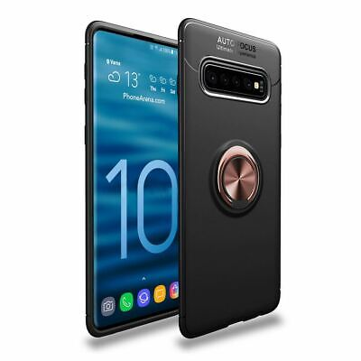 Samsung Galaxy S10 Plus S10E Luxury Magnetic 360 Ring Holder Phone Case Cover 10