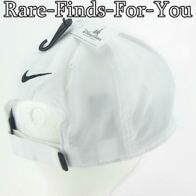 Disney Parks Nike Dri Fit Mickey Mouse White Grey Golf Baseball Cap Hat NEW/TAGS 7