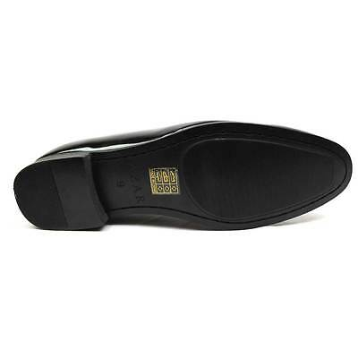 New Men's Black Slip On Patent Leather Tuxedo Formal Event Dress Shoes By AZAR 7